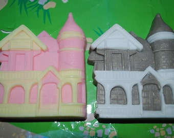 manor house shaped soap