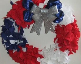 """Patriotic 12"""" wreath"""