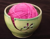 Made to order yarn/knitting bowl