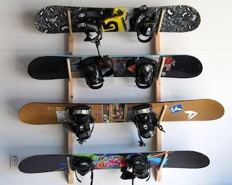 4 Snowboard Storage Rack