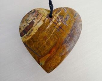 Cherry Creek Heart Shape Pendant  (ETP00047)