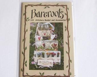 Stitchery basket Bareroots sewing Guide