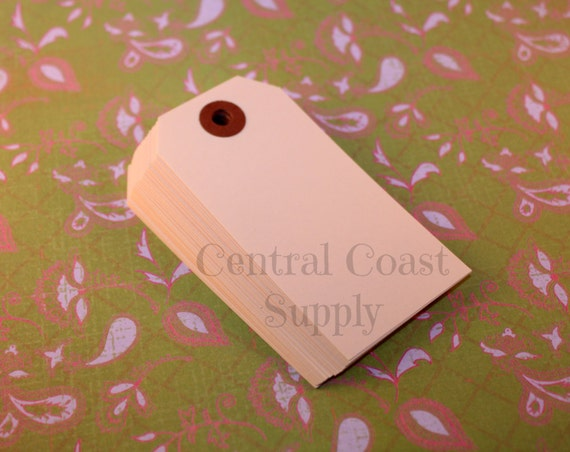 Manila gift tag price tag craft show tags by for Price tags for craft shows
