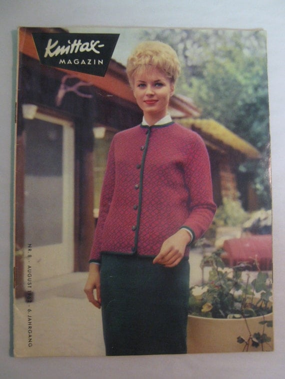 august 1962 knittax magazine knitting for knitting. Black Bedroom Furniture Sets. Home Design Ideas