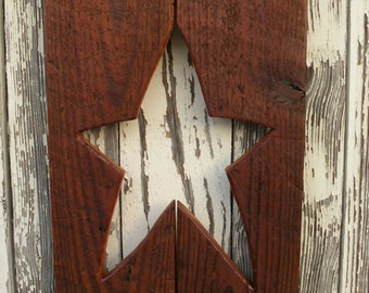 Primitive Star Wall Decor