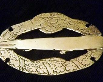 Zepplin Brass Badge