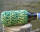 Reserved for Anna, 2 cozies, green and yellow, great for spring, summer and festivals