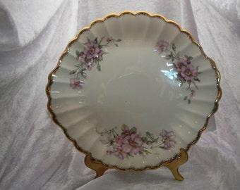 Goldenware Plate  Unique vintage, antique