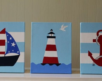 Popular items for nautical nursery on Etsy
