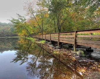 Wolfe Park Bridge Monroe, CT