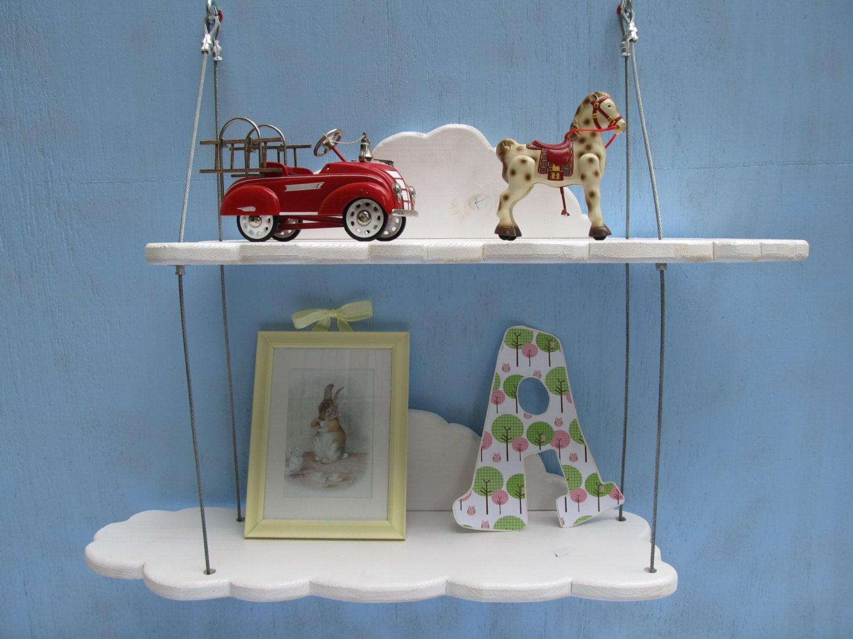 cloud shelves nursery furniture display shelving wall