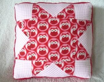 Lovely Lil' Owls Children's Pillow