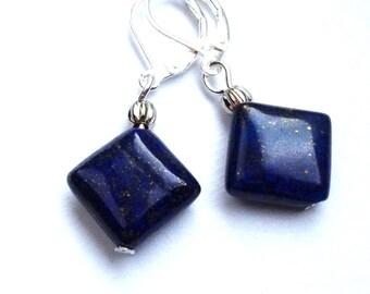 earrings Starry Sky blue galaxy look