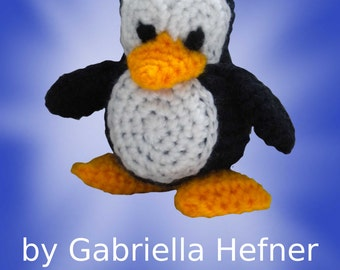 Amigurumi pattern Little penguin