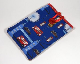 iPad Mini Cover London, Handmade Images of London iPad Mini Case, London iPad Mini Sleeve