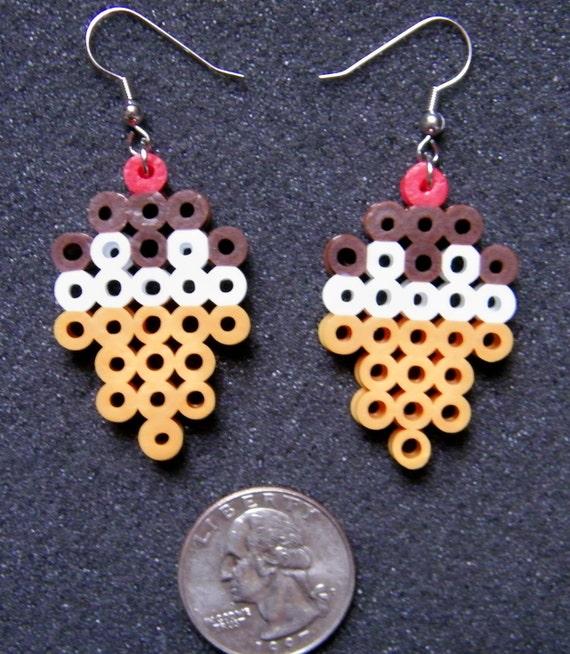 Pixel Art Sweet Treat Earrings