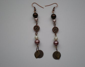 Mixed Metals Chandelier Earrings