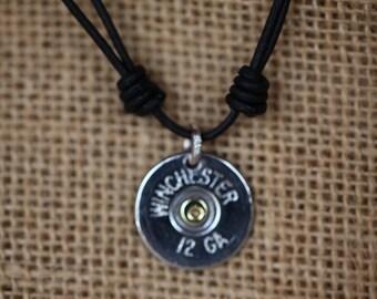 WINCHESTER SHOTGUN SHELL Necklace