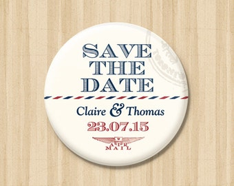First Class - Save the Date Magnets