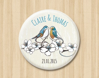 Lovely Birdies - Save the Date Magnets