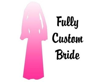 Fully Custom Bride Figure