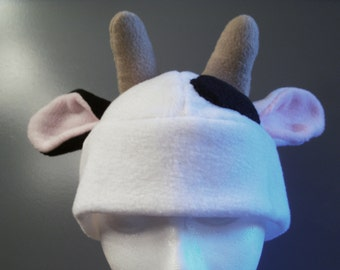 Fleece Cow Hat