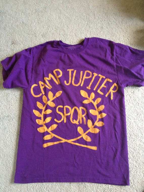 Camp Jupiter T-shirt - -rival of camp-half blood from Percy JacksonCamp Jupiter Shirt Percy Jackson