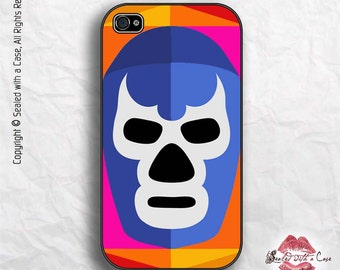Lucha Libre Blue Demon Mexico - iPhone 4/4S 5/5S/5C/6/6+ and now iPhone 7 cases!! And Samsung Galaxy S3/S4/S5/S6/S7
