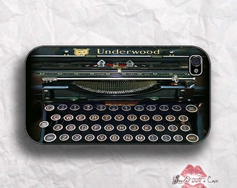 Vintage Underwood Typewriter  - iPhone 4/4S 5/5S/5C/6/6+ and now iPhone 7 cases!! And Samsung Galaxy S3/S4/S5/S6/S7