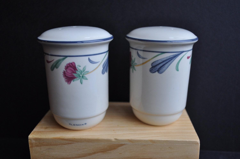 Pretty Lenox Porcelain Salt And Pepper Shakers