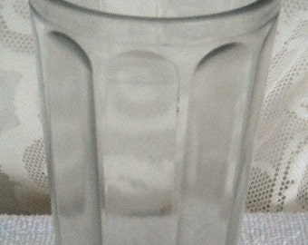 Sale.......................VINTAGE, ANTIQUE, Tall Water GLASS From Old Store Stock
