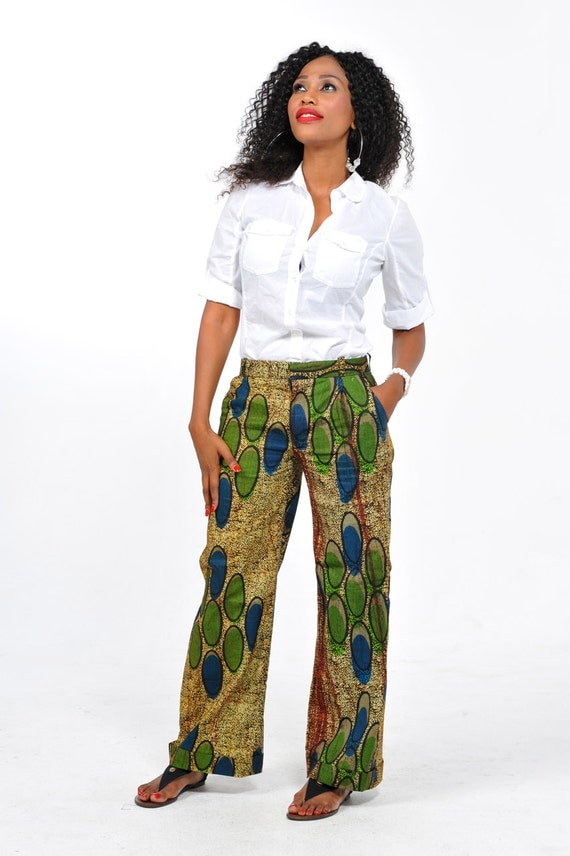 African Print Pants by Bongolicious1 on Etsy