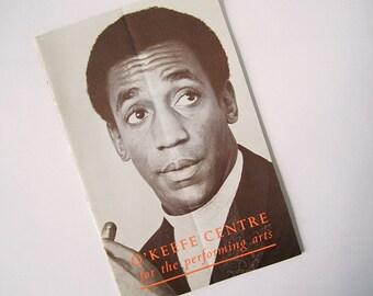 1969 Bill Cosby Performance Playbill/Programme