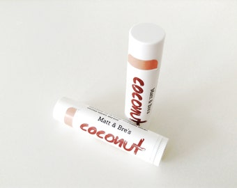 Matt & Bre's Coconut Lip Balm