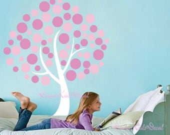 Bubble Tree wall decals nursery wall decals Kids decal girl kids wall decals wall sticker wall decor-DK066