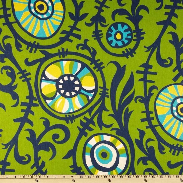 Green Fabric By The Yard Premier Prints Chartreuse By