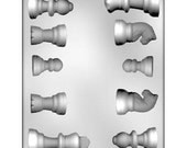 Chess Pieces Chocolate Candy Mold  - CKP90-13453