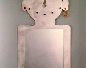 Happy Face mirror.