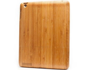 Natural Bamboo iPad 2,3,4 case, UK