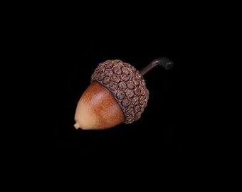 Autumn Acorn Pin Brooch