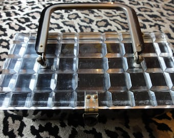 1950's Bakelite and Lucite Box Purse project