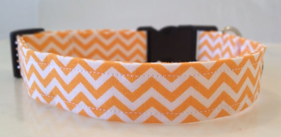 https://www.etsy.com/listing/126706342/orange-chevron-dog-collar