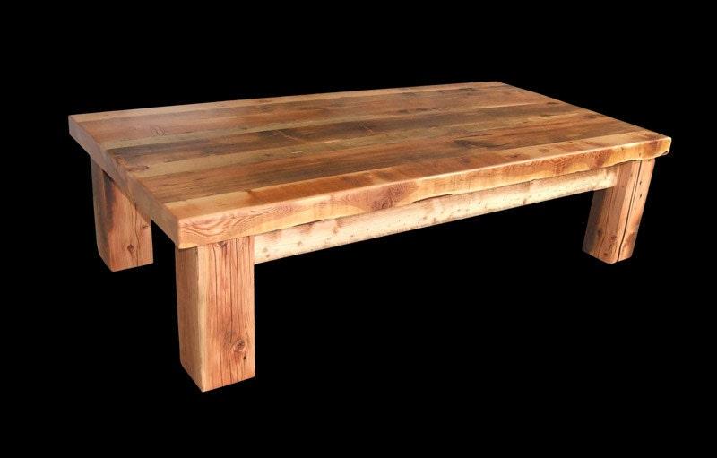 reclaimed barnwood coffee table rustic coffee table barnwood