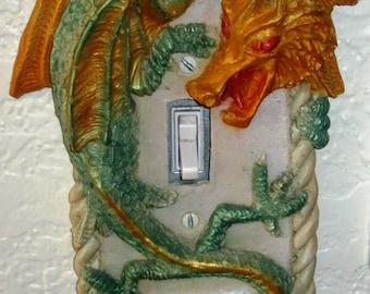 Coca Dragon Light Switch Cover