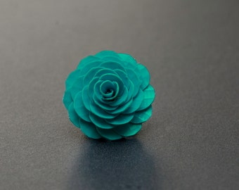 Custom Color Duct Tape Rose Ring