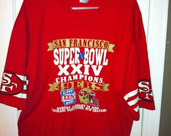 San Fransisco 49ers 1990 Superbowl Shirt