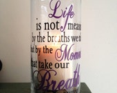 Quoted candle holder