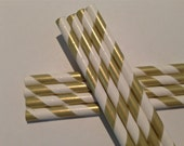 200 SALE - GOLD STRAWS