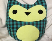 Very Soft Decorative Owl Pillow