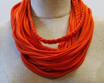Bright Orange T-Scarf